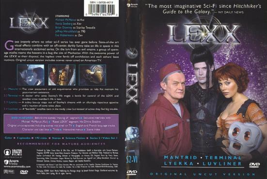 Лекс / LEXX (1-4 сезоны (1997-2002) ) TVRip